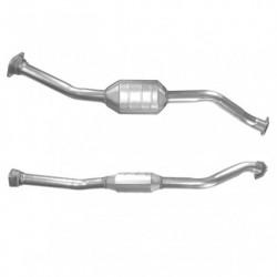 Catalyseur pour TOYOTA RAV4 2.0 TD D4-D Turbo Diesel 5-portes (catalyseur situé sous le véhicule)