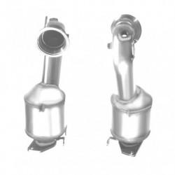 Catalyseur pour BMW 330d 3.0 TD E46 Turbo Diesel (M57N - catalyseur situé sous le véhicule)