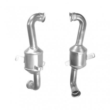 Catalyseur pour CITROEN JUMPY 1.6 HDI 90 (moteur : DV6TED4) pour véhicules sans FAP