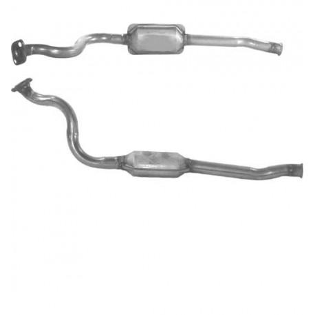 Catalyseur pour CITROEN JUMPY 1.9 Diesel (moteur : DW8 - N° de chassis jusquà 08575)