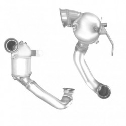 Catalyseur pour CITROEN JUMPY 2.0 HDi (moteur : DW10BTED4 - 136cv - 1er catalyseur)