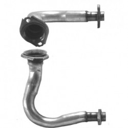 Tuyau d'échappement pour VOLVO 440 1.7 Carburettor