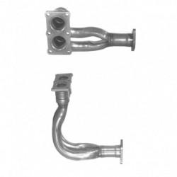 Tuyau d'échappement pour VOLVO 440 1.7 Injection Auto (Jusquau chassis N°214761)