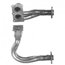 Tuyau d'échappement pour VOLVO 460 1.7 Inj. Auto (N° de chassis 486114 et suivants) - B18KP