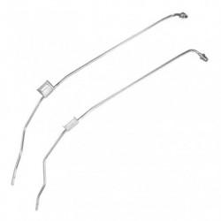 Tuyau de pression pour FAP pour CITROEN C5 2.2 Mk.2 HDi (4HT (DW12BTED4))