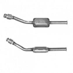 Catalyseur pour CITROEN XSARA PICASSO 1.6 8v (moteur : NFZ (moteur : TU5JP) - Catalyseur situé sous le véhicule