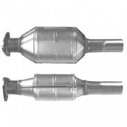 Catalyseur pour FIAT BRAVA 1.2 80 16v (moteur : 182B2 - Catalyseur situé sous le véhicule