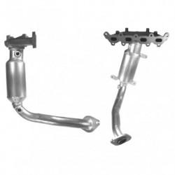 Catalyseur pour FIAT BRAVO 1.2 16v Collecteur (moteur : 188A5)