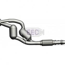 Catalyseur pour BMW 525d 2.5 d E39 Break 163cv 24v (véhicule Diesel) Moteur : M57