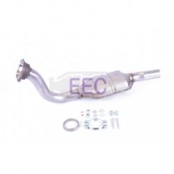 Catalyseur pour Citroen C8 2.0 HDi MPV 110cv 16v (véhicule Diesel) Moteur : DW10ATED4