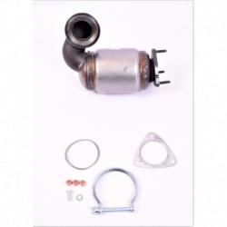 Catalyseur pour Fiat Ducato 2.2 Multijet MPV 100cv 16v (véhicule Diesel) Moteur : 4HV