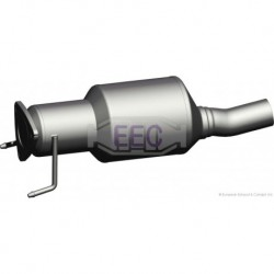 Catalyseur pour Iveco Daily 2.3 HPI Fourgon 116cv 16v (véhicule Diesel) Moteur : F1AE0481GA