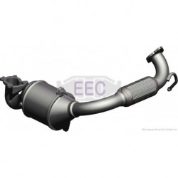 Catalyseur pour Mazda 2 1.4 Hayon 68cv 8v (véhicule Diesel) Moteur : F6JA - F6JB