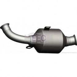 Catalyseur pour Peugeot 206 1.4 HDi Hayon 68cv 8v (véhicule Diesel) Moteur : 8HX(DV4TD) - 8HZ(DV4TD)