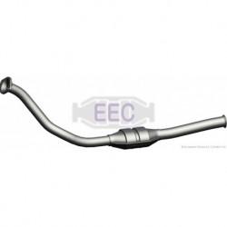 Catalyseur pour Peugeot 306 1.9 Hayon 71cv 8v (véhicule Diesel) Moteur : DJY(XUD9A)