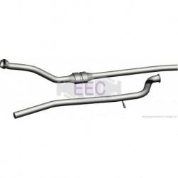 Catalyseur pour Peugeot 406 1.9 D Berline 75cv 8v (véhicule Diesel) Moteur : XUD9SD