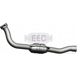 Catalyseur pour Peugeot 806 2.1 MPV 109cv 12v (véhicule Diesel) Moteur : XUD11BTE