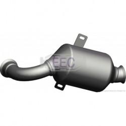 Catalyseur pour Peugeot 1007 1.4 HDi MPV 68cv 8v (véhicule Diesel) Moteur : 8HX(DV4TD) - 8HZ(DV4TD)