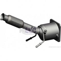 Catalyseur pour Peugeot 407 SW 2.0 HDi Break 136cv 16v (véhicule Diesel) Moteur : RHR(DW10BTED4)