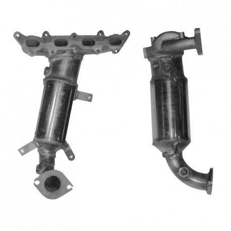 Catalyseur pour FIAT GRANDE PUNTO 1.4 16v Collecteur (moteur : 199A6)