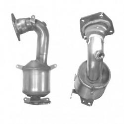 Filtres à particules pour FORD FOCUS 1.6 TD Mk.2 TDCi Euro 4 - sans-additive system