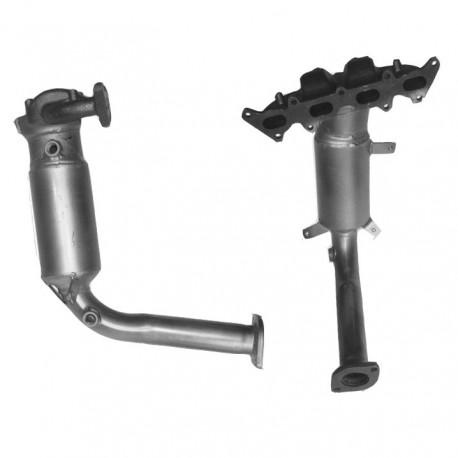 Catalyseur pour FIAT IDEA 1.2 16v Collecteur (moteur : 188A5)