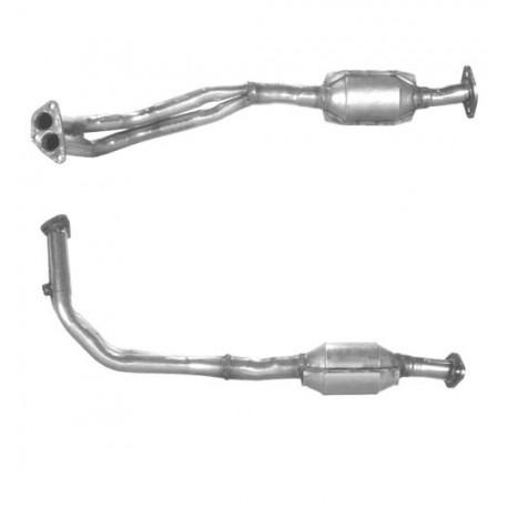 Catalyseur pour FIAT PANDA 1.0 catalyseur situé sous le véhicule