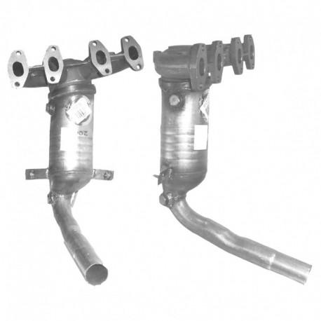 Catalyseur pour FIAT PANDA 1.1 4x4 Collecteur (moteur : 187 A1)