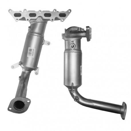 Catalyseur pour FIAT PANDA 1.4 16v (moteur : 169A3)