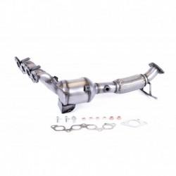 Catalyseur pour Ford Focus 1.6 Hayon 99cv 16v (véhicule Essence) Moteur : HWDA - HWDB - SHDA - SHDB - SHDC