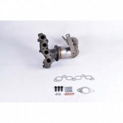 Catalyseur pour Ford Fusion 1.4 Hayon 79cv 16v (véhicule Essence) Moteur : FXJA - FXJB - FXJC