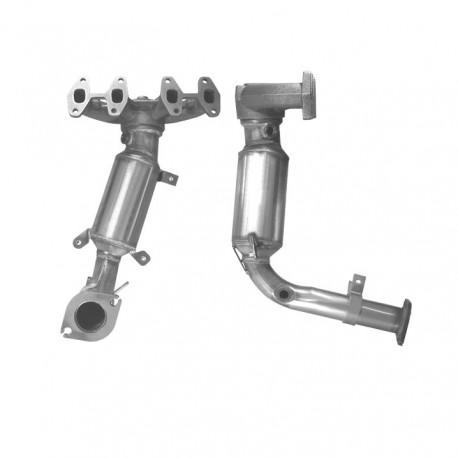 Catalyseur pour FIAT PUNTO 1.2 8v Collecteur (moteur : 188A4)