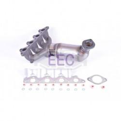 Catalyseur pour Hyundai Accent 1.3 Coupé 83cv 12v (véhicule Essence) Moteur : G4EH