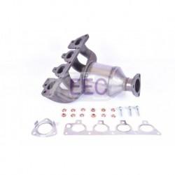 Catalyseur pour Opel Zafira 1.6 MPV 99cv 16v (véhicule Essence) Moteur : Z16XE - Z16YNG