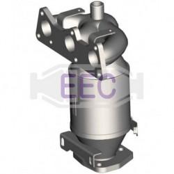 Catalyseur pour FORD FIESTA 1.8 TDi TDi y compris Courier (catalyseur situé coté moteur)