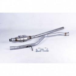Catalyseur pour Peugeot 206 1.4 Hayon 75cv 8v (véhicule Essence) Moteur : KFW(TU3JP) - KFX(TU3JP)
