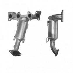 Catalyseur pour FIAT QUBO 1.4 8v (moteur : 350A1 - Euro 6)