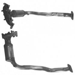 Catalyseur pour FIAT STILO 1.2 16v (moteur : 188A5.000)