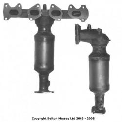 Catalyseur pour FIAT STILO 1.6 16v Collecteur (moteur : 182B6)