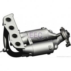 Catalyseur pour Toyota Previa 2.4 MPV 154cv 16v (véhicule Essence) Moteur : 2AZ-FE