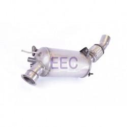 Filtre à particules (FAP) pour BMW 120d 2.0 d E81 Hayon 177cv 16v (véhicule Diesel) Moteur : N47D20A - N47D20C