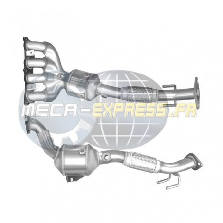 Catalyseur pour FORD C-MAX 1.6 Mk.2 Ti 16v (moteur : IQDA - IQDB)