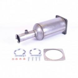 Filtre à particules (FAP) pour Citroen C5 2.2 HDi Hayon 136cv 16v (véhicule Diesel) Moteur : DW12TED4/Filtres à particules