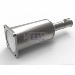 Filtre à particules (FAP) pour Citroen C6 2.2 HDi Berline 173cv 16v (véhicule Diesel) Moteur : DW12BTED4