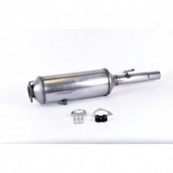 Filtre à particules (FAP) pour Fiat Multipla 1.9 JTD MPV 120cv 8v (véhicule Diesel) Moteur : 186A9.000