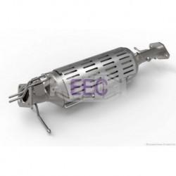 Filtre à particules (FAP) pour Mazda 3 2.0 Hayon 141cv 16v (véhicule Diesel) Moteur : RF7J