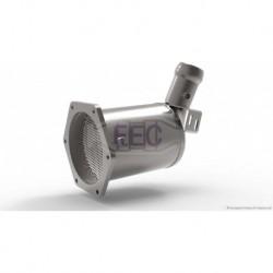 Filtre à particules (FAP) pour Mercedes C220 2.1 CDi L203 Coupé 150cv 16v (véhicule Diesel) Moteur : OM646.963