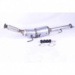 Filtre à particules (FAP) pour Nissan Juke 1.5 F15 SUV 110cv 8v (véhicule Diesel) Moteur : K9K410 - K9K636 - K9K896
