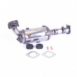 Filtre à particules (FAP) pour Nissan Navara 2.5 D40 Pickup 172cv 16v (véhicule Diesel) Moteur : YD25DDTi