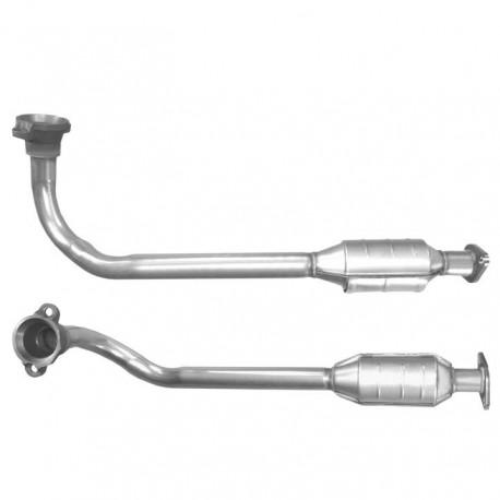 Catalyseur pour FORD ESCORT 1.8 Zetec Catalyseur situé sous le véhicule